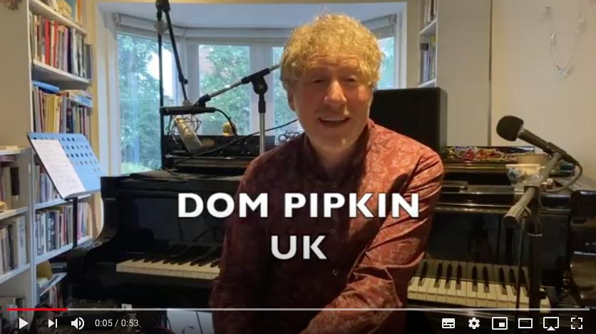 Dom Pipkin Live Lockdown Streams